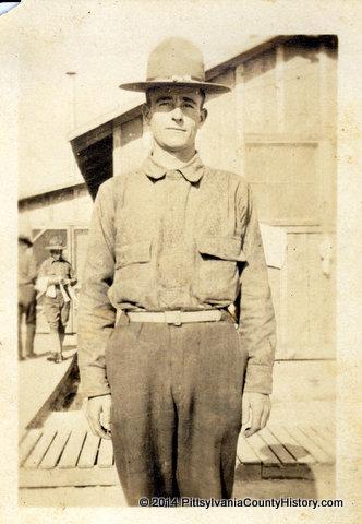 Joseph Edward Quisenberry WWI