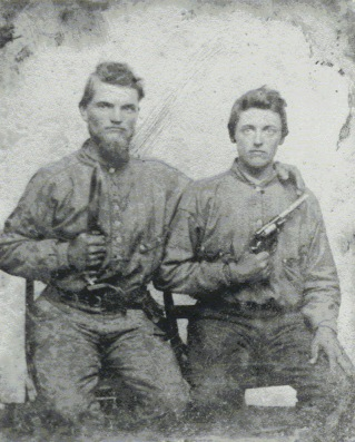 The Bradley Brothers, 38th Va Inf'y