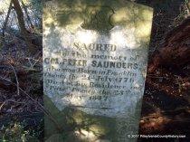 Saunders, Col. Peter